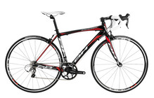 BH Bikes Zaphire velo route 6.9 rouge/noir